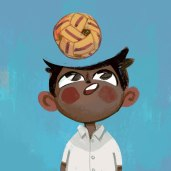 Arjun, an indian boy with big dreams of becoming a space traveler.